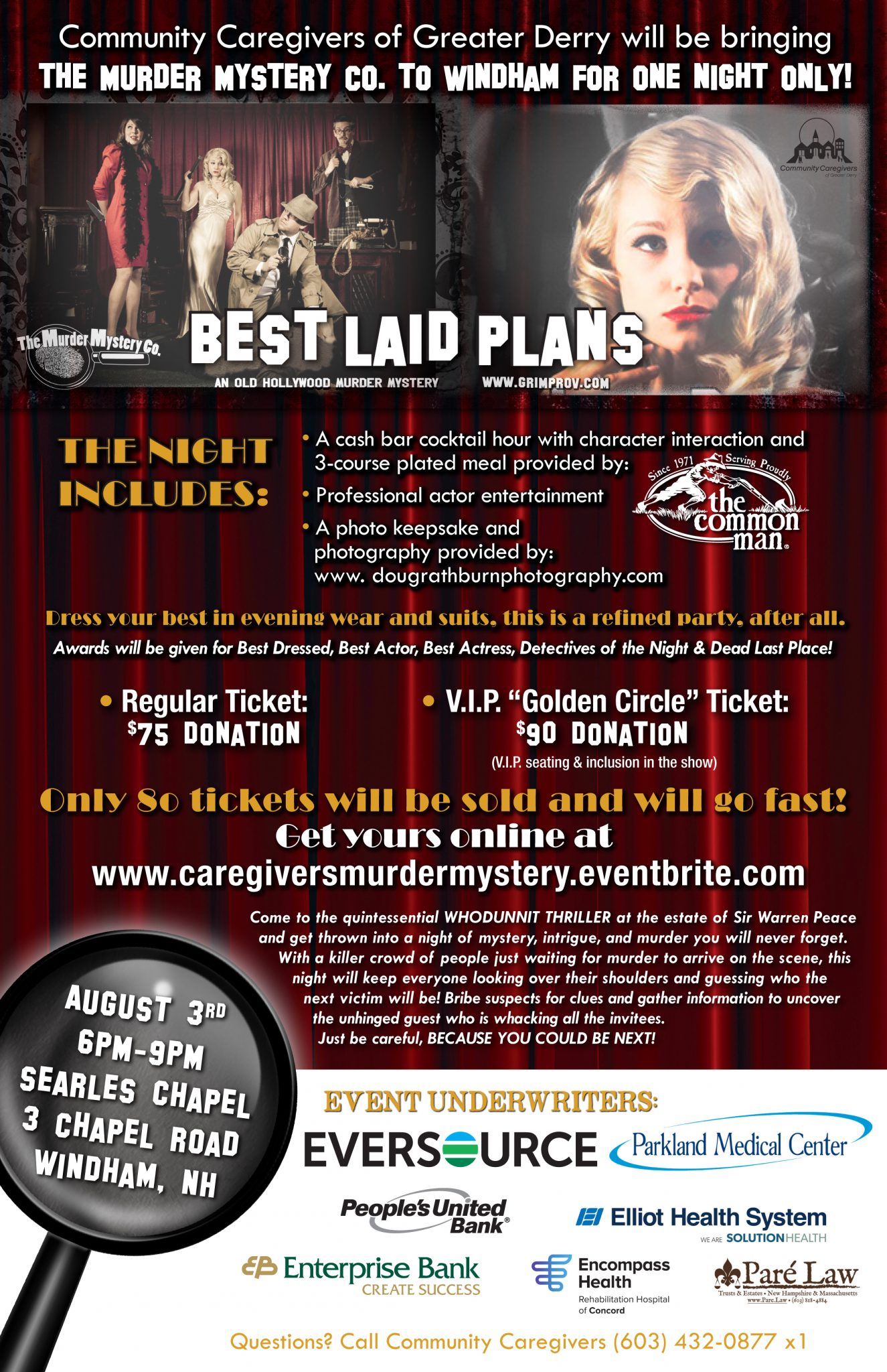 An Old Hollywood Murder Mystery! Best Laid Plans To Purchase